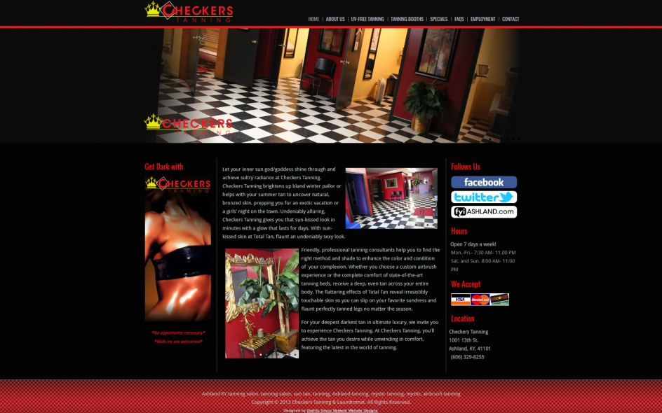 checkers-tanning
