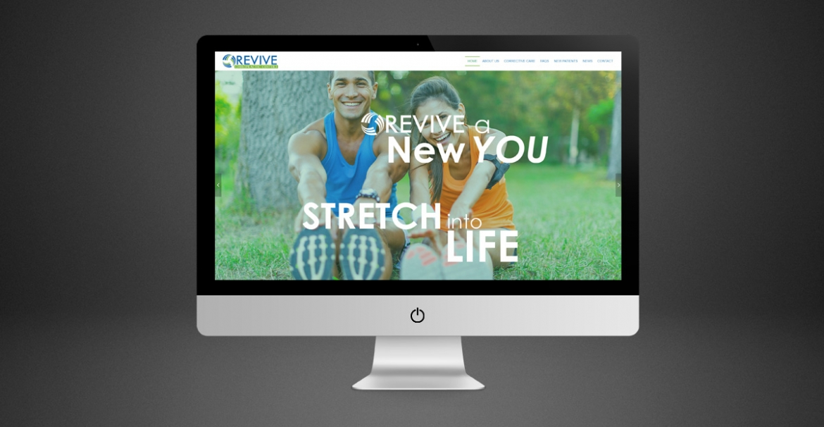 Revive Chiropractic Centers | GraFitz Group Network Website